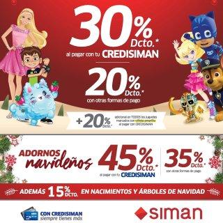 En SIMAN descuentos en juguetes fin de mes noviembre 2018