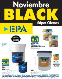 Ferreteria EPA Black Friday 2018 super ofertas PINTURAS