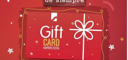 Inicia a compartir regalos de navidad SUPER SELECTOS giftcard