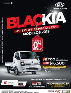 Precios especiales camiones KIA BLACK noviembre 2018
