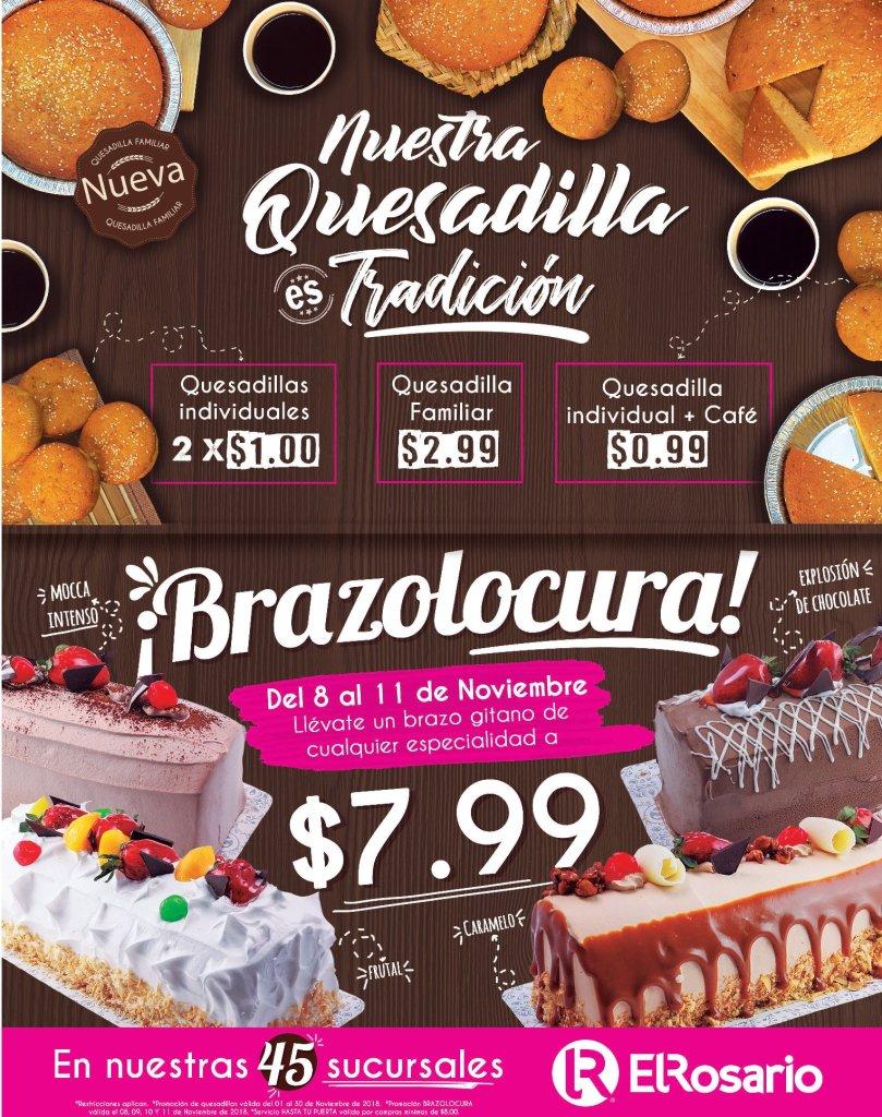 Promociones dulces EL ROSARIO noviembre 2018