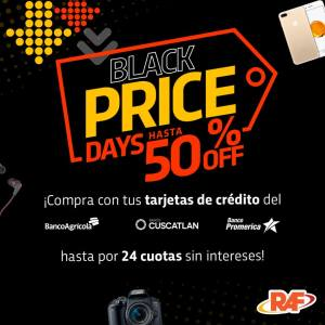 RAF el salvador black friday 2018 cuotas si intereses