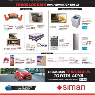 Siman Big Black Friday 2018 SALE descuentos negros