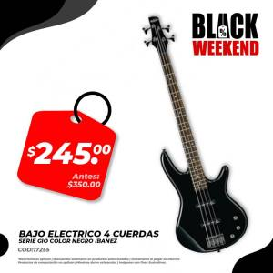 bajo electrico black friday electronica japonesa
