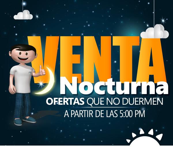 ATECION - Venta Nocturna en La Curacao ONLINE [13/nov/18 hasta las 12 de la noche]