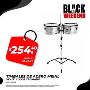 timbales black friday electronica japonesa