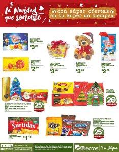 Mega Ofertas del Super Selectos en Navidad 2018