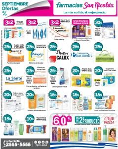 Medicinas en promocion Farmacia San Nicolas [Septiembre 2019]