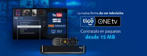 Nuevo servicio TIGO One TV