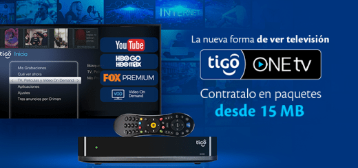 Nuevo servicio TIGO one tV un solo dispositivo