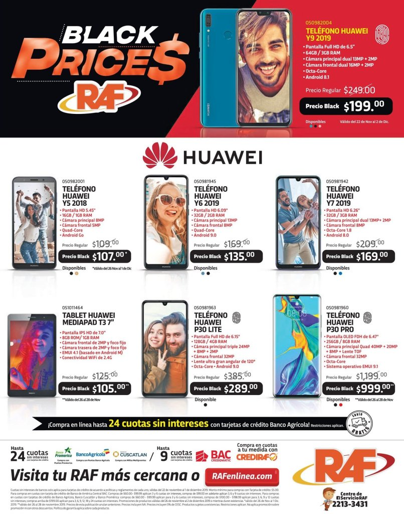 BLACK-prices-HUAWEI-smartphones-RAF-26nov19