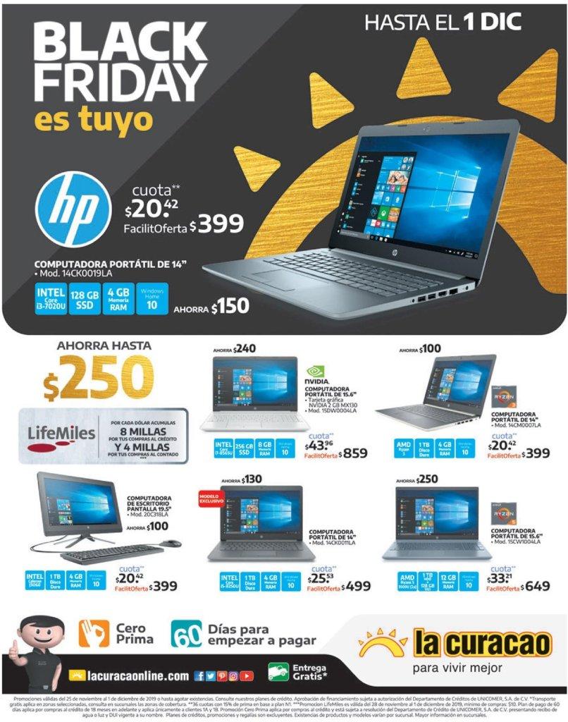 Computadoras portatiles rebajadas blak friday la curacao - 27nov19