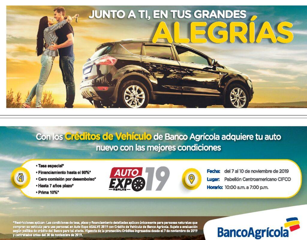 Credito para vehiculos año 2020 BANCO AGRICOLA elsalvador