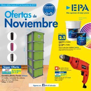 Todo para su hogar Ferreteria EPA (Nov.19)