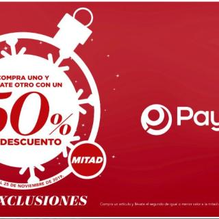 Ofertas Black Friday 2019 Payless el salvador
