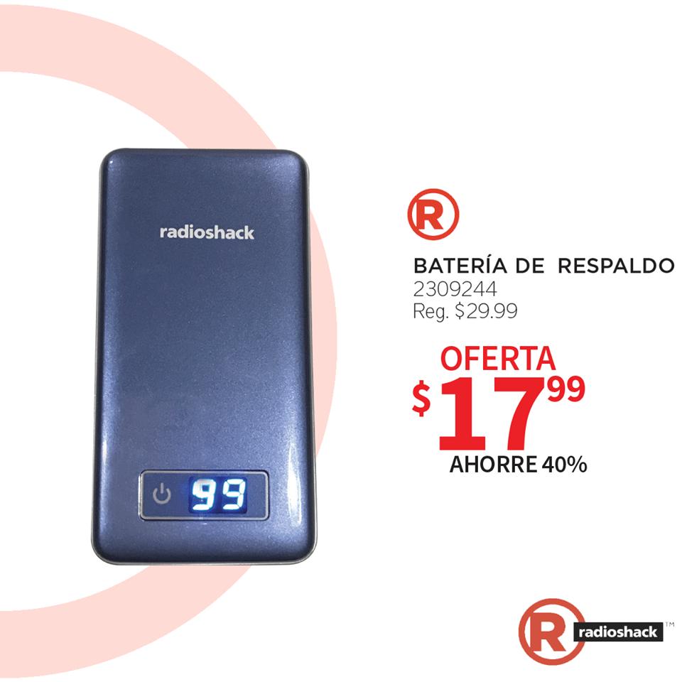 Precios batery bank balckfriday RadioShack el salvador 2019