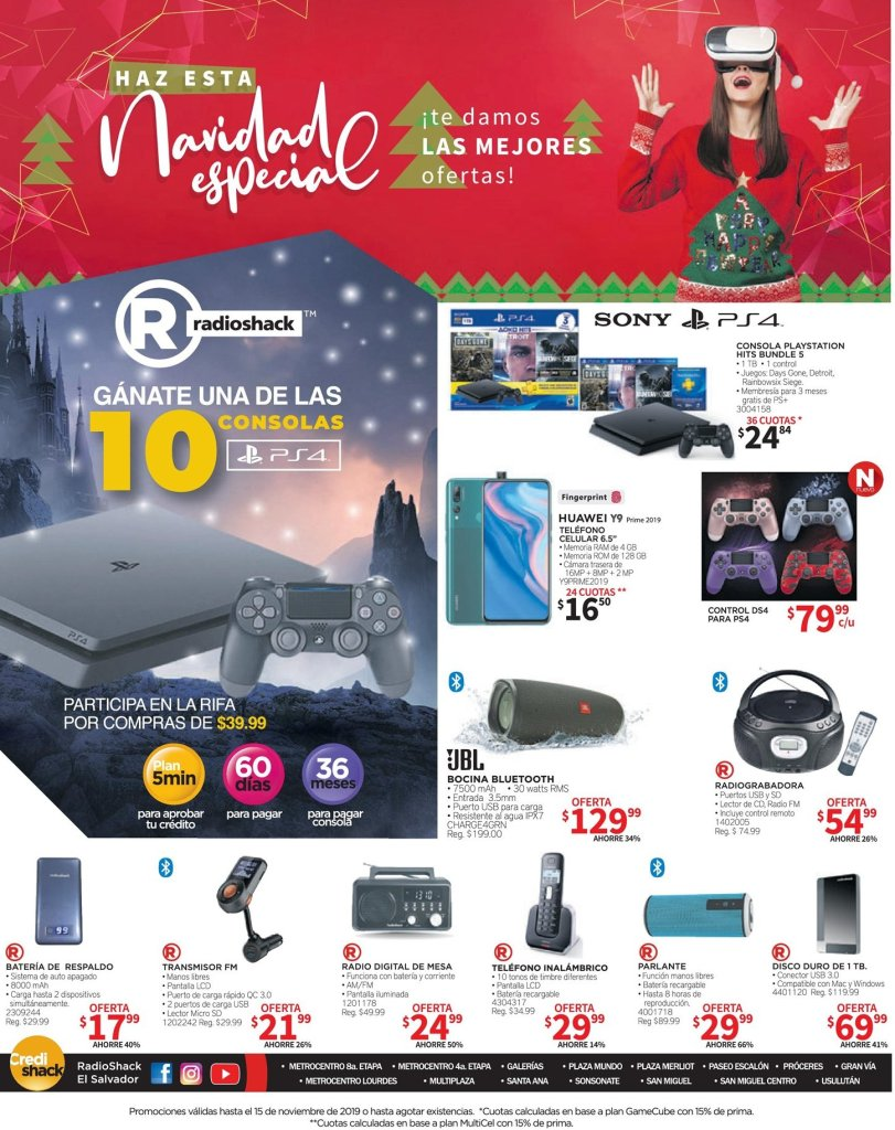 Radio Shack seconf friday deals technology gadgets