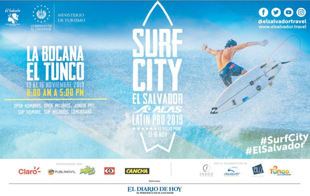 SUFR CITY el salvador 2019 tournament latin america profesionals