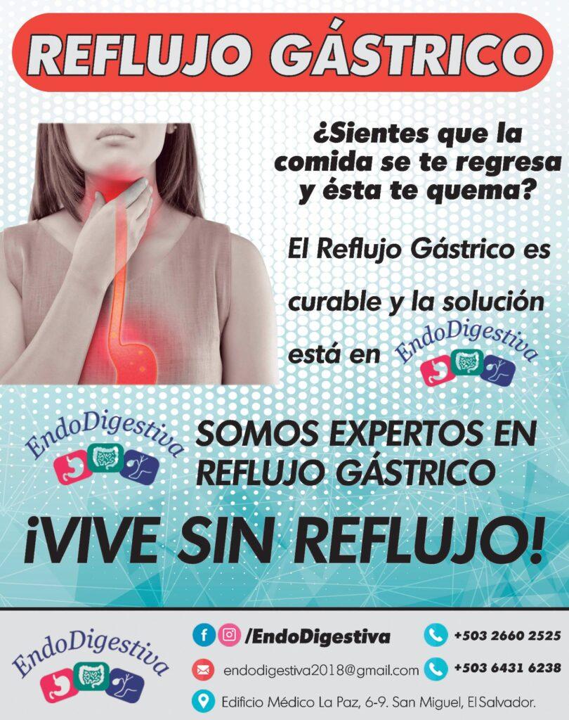 Solucion al reflujo gastrico el salvador endodigestiva