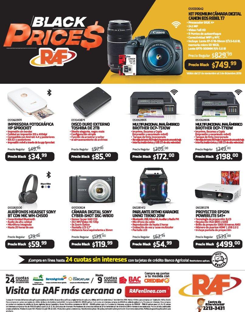 Todo los necesario para gente moderna BLACK prices - 27nov19