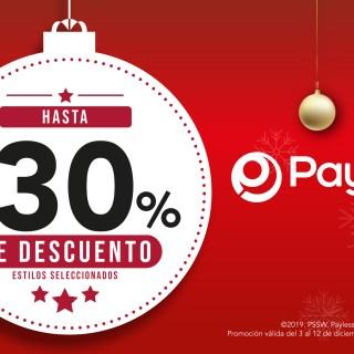 Promocion navideña 2019 PAYLESS shoes el salvador