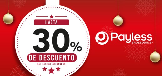 Promocion navideña 2019 PAYLESS shoes el salvador