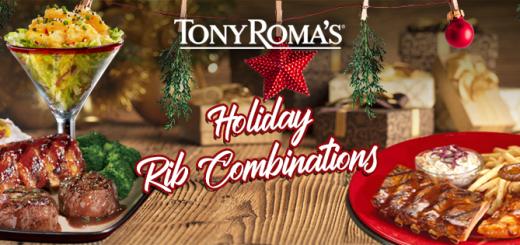 holidays ribs menu foodporn TONY ROMA