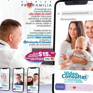 Disponibles consultas medicas online el salvador