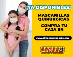 😷 Disponibles mascarillas quirurgicas para prevenir COVID-19