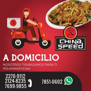 Promociones CHINA SPEED dia del padre 2020