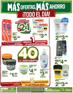 Ofertas de quincena Super Selectos (15.Jul.2020)