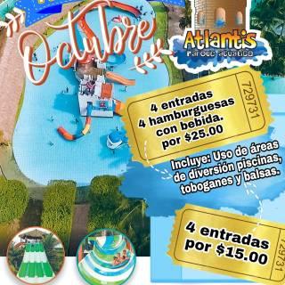 Promociones-de-re-apertura-parque-acuatico-atlantis-el-salvador