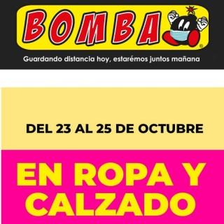 almacenes bomba el salvador descuentos octubre 2020