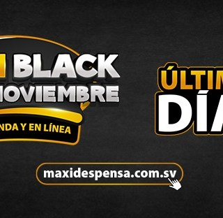 Ultimos dia maxi despensa black friday november 2020