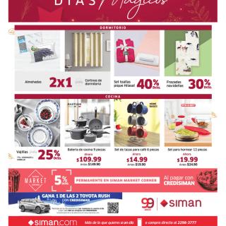 Almacenes SIMAN hogares con descuento en navidad 2020