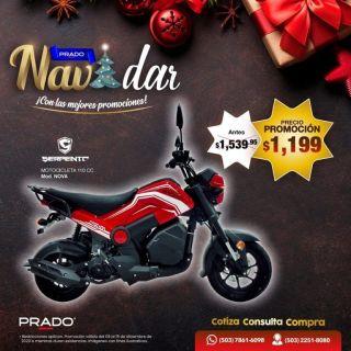 Ofertas moto honda NAVI almacenes prado - 11dic20
