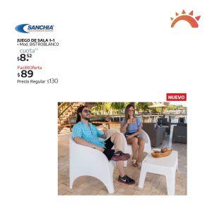 Catalogo de muebles plasticos sanchia para ranchos y piscinas 2021