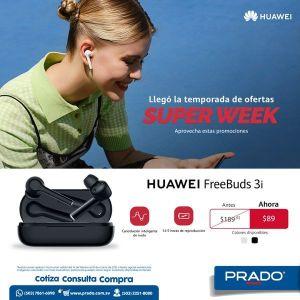 Precio HUAWEI free buds 3i el salvador