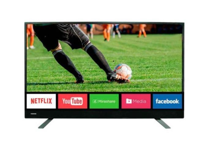 """Toshiba Netflix TV 55"""" 4K Toshiba"""