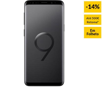 c6e5b9b9be Smartphone SAMSUNG Galaxy S9 64 GB Preto Meia Noite 14% Desconto ...