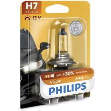 1 Lâmpada PHILIPS H7 20% Desconto