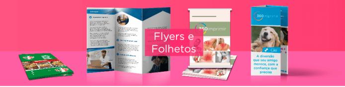 Flyers e Folhetos Personalizados para a sua empresa!