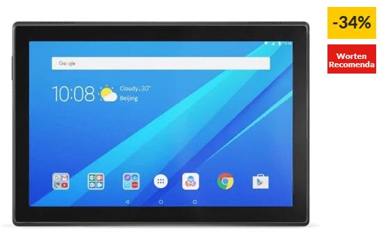 "Tablet LENOVO TB-X104F (10.1"" – 16 GB – RAM: 2 GB – Preto)"