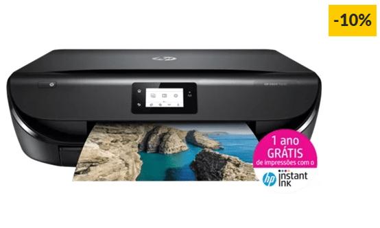 Impressora Multifunções HP ENVY 5030, elegível para HP Instant Ink