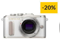 Máquina Fotográfica Mirrorless OLYMPUS E-PL8 (Branco – 16.1 MP – Sensor: Micro 4/3 – ISO: 200 – 25600)