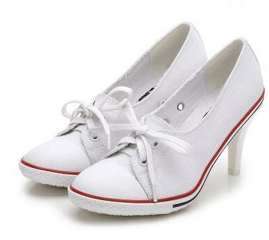 zapatillas con tacon