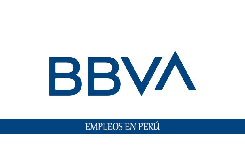 BBVA Continental Perú vacantes para personal sin experiencia