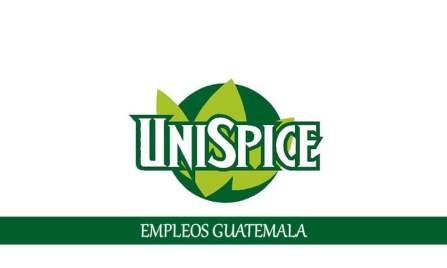Trabajos en Unispice para personal con o sin experiencia
