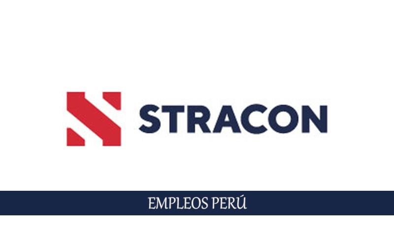 Convocatoria en Stracon Perú más de 20 empleos disponibles