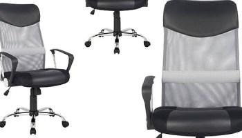 Chollazo Silla de Oficina ergonómica giratoria con asiento regulable ...